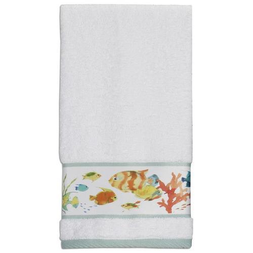 Creative Bath Rainbow Fish Hand Towel Bealls Florida