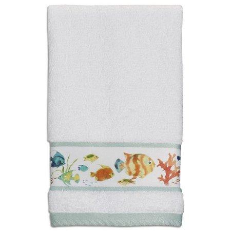 Creative Bath Rainbow Fish Washcloth