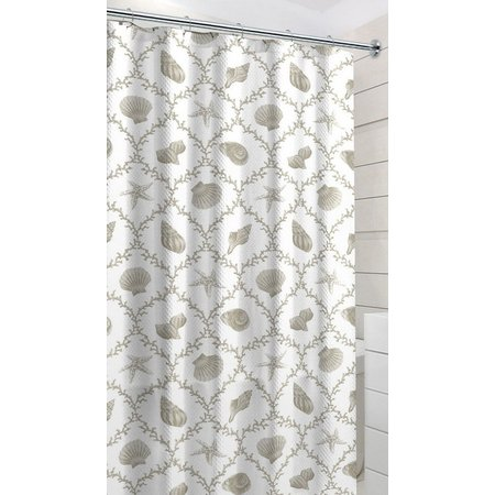 CHD Home Textiles Linen Key West Shower Curtain