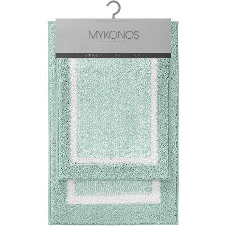 CHD Home Textiles Mykonos 2-pc. Bath Rug Set