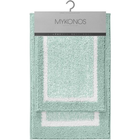 CHD Home Textiles Mykonos 2-pc. Bath Rug Set