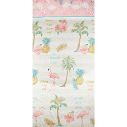 Saturday Knight Flamingo Fever Shower Curtain