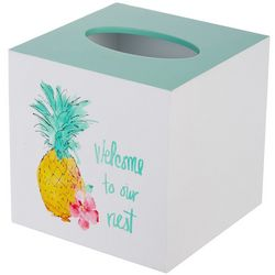 Saturday Knight Flamingo Fever Tissue Box