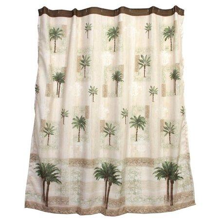 Bacova Citrus Palm Shower Curtain