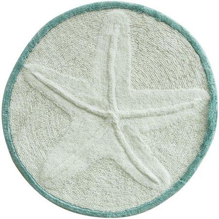 New! Bacova Starfish Bath Rug