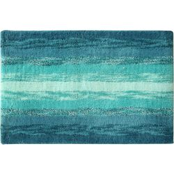 Bacova Portico Blue Bath Rug