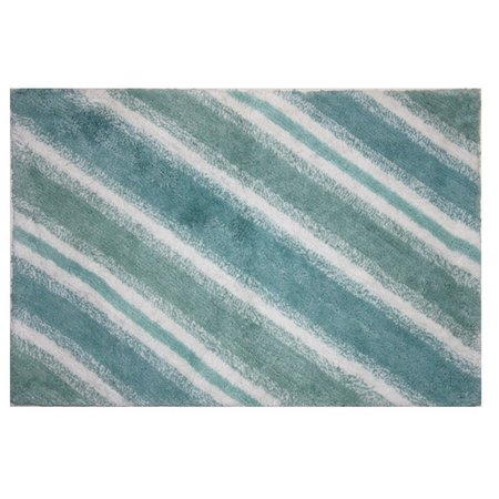 Bacova La Mer Collection Bath Rug