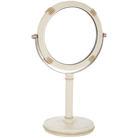 India Ink Coastal Trellis Vanity Mirror