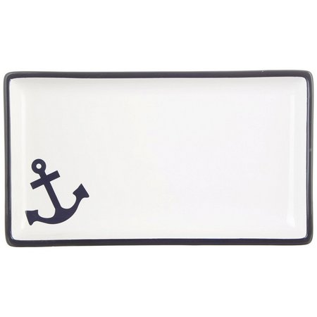 India Ink Anchor Guest Tray