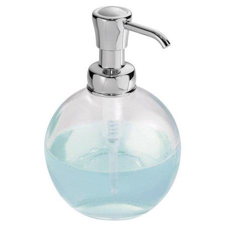 Interdesign York Glass Pump Soap Dispenser