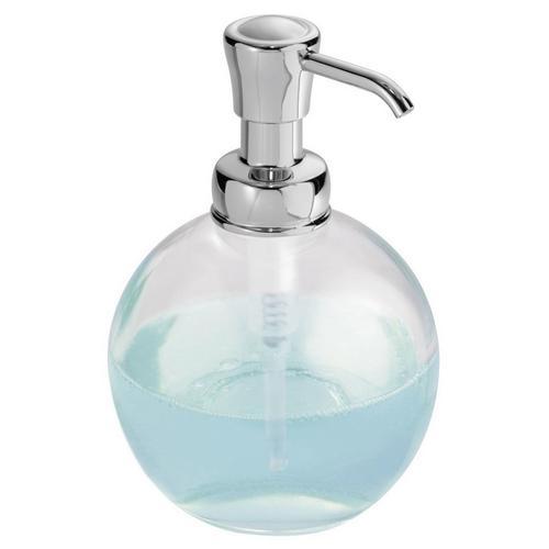 Interdesign york glass pump soap dispenser bealls florida for Interdesign york