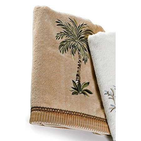 Avanti Palm Tree Washcloth