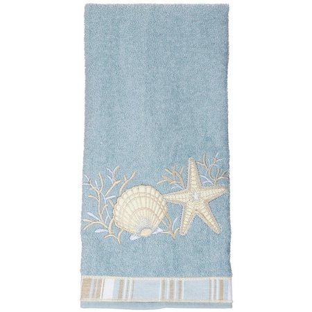 Kitchen linens towels pot holders bealls florida avanti seashell hand towel publicscrutiny Image collections