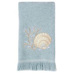 Avanti Seashell Fingertip Towel