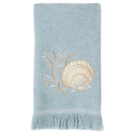 Avanti Seashell Fingertip Towel