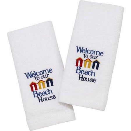 Avanti Welcome 2-pk. Fingertip Towel Set