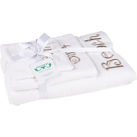 American Dawn Sand Beach Words Towel Collection