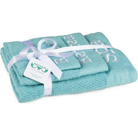 American Dawn Spa Words Towel Collection