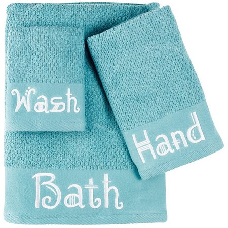 American Dawn Teal Bath Towel Collection