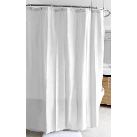 Splash Home Ella Microfiber Shower Curtain Liner