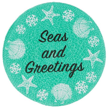 Homewear Braided Seas and Greetings Placemat