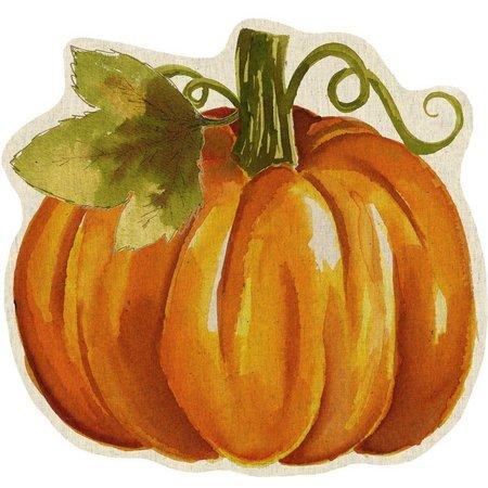 Brighten the Season Watercolor Pumpkin Placemat