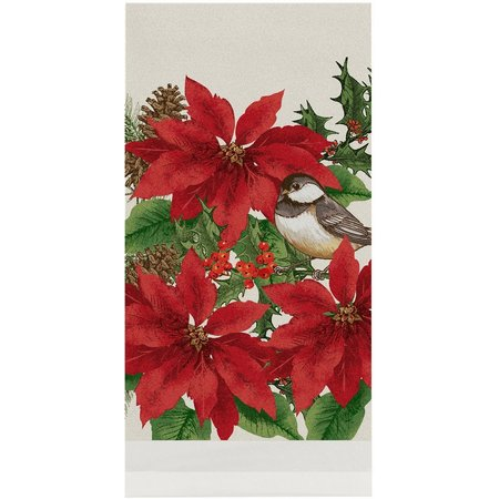 Brighten the Season Joyful Christmas Kitchen Towel