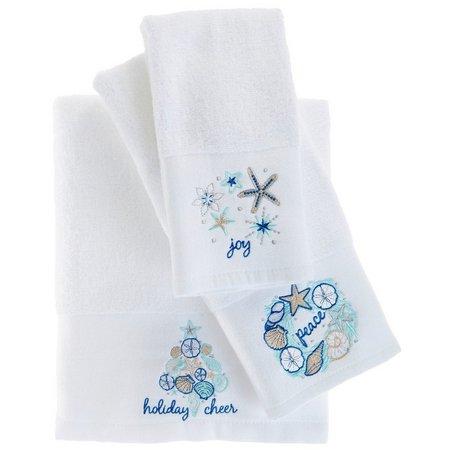 Brighten the Season Shellabrate Towel Collection