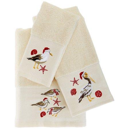 Brighten the Season Holiday Birds Towel Collection