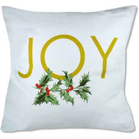 Elise & James Home Joy Holly Decorative Pillow
