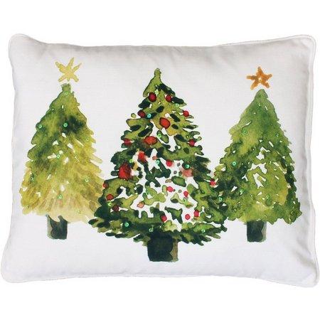Thro 3 Watercolor Trees Pillows