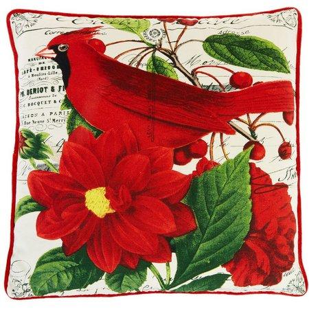 Newport Layton Red Cardinal Decorative Pillow Bealls Florida