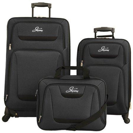 Skyway Glacier Peak 3-pc. Spinner Luggage Set