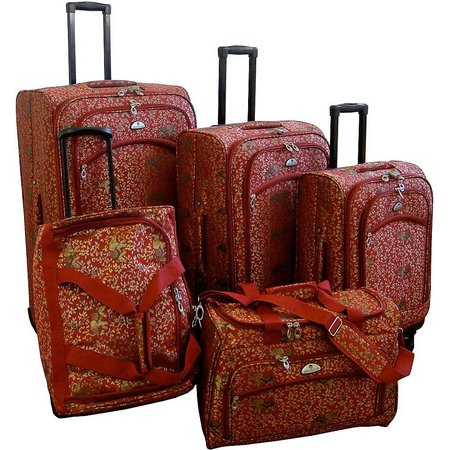 American Flyer 5-pc. Budapest Spinner Luggage Set