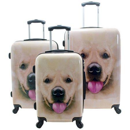 Chariot 3-pc. Labrador Hardside Luggage Set