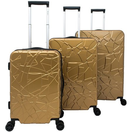 Chariot 3-pc. Crystal Hardside Luggage Set