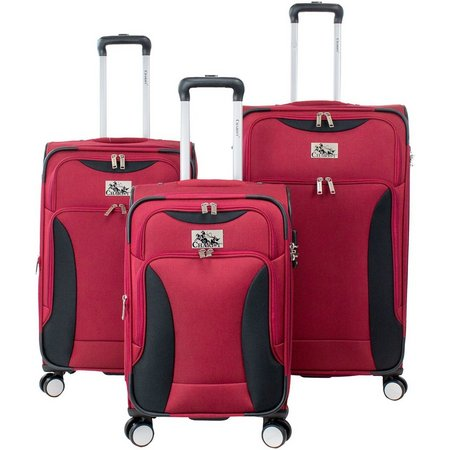 Chariot 3-pc. Madrid Spinner Luggage Set