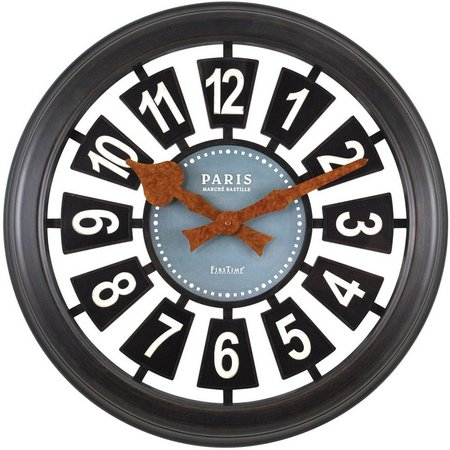 FirsTime 22.5'' Parisian Wall Clock
