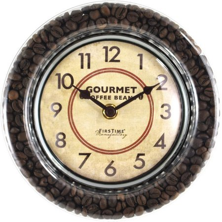FirsTime 7.5'' Gourmet Cafe Wall Clock
