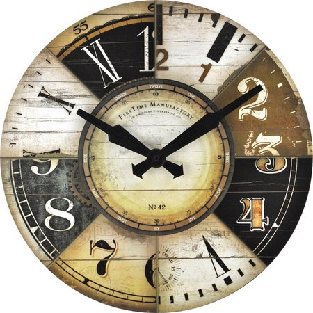 FirsTime 15.5'' Collector Wall Clock