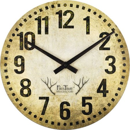 FirsTime 15.5'' Camo Restoration Wall Clock