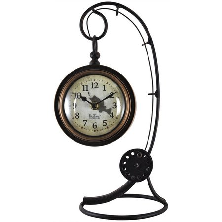 FirsTime Fishing Rod Tabletop Clock