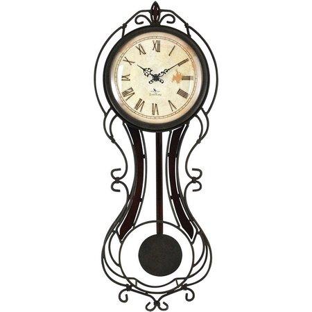 FirsTime Fleur De Lis Wall Clock