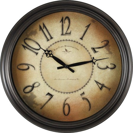 FirsTime 18'' Taylor Road Wall Clock