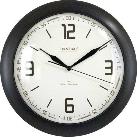 FirsTime 11'' Linen Whisper Wall Clock