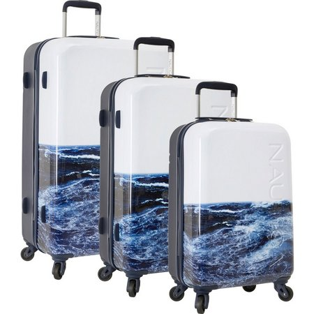 Nautica Jones Beach Ocean 3-pc. Luggage Set