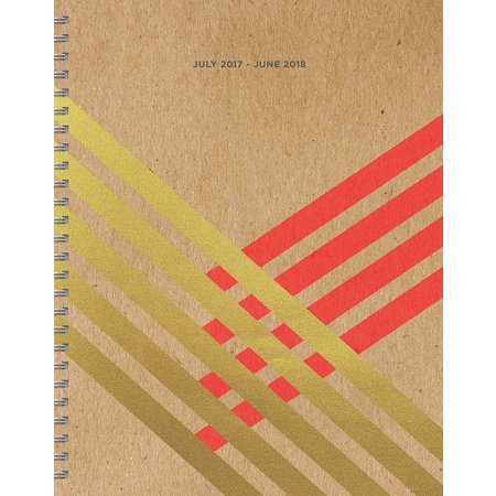TF Publishing 2018 Gold Kraft Academic Planner