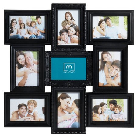 Melannco 9 Opening Multi Profile Collage Frame