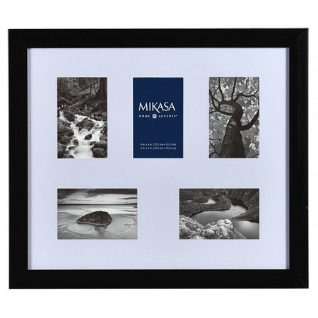 Mikasa 5 Opening Black Shadowbox Collage Frame
