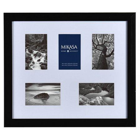 Mikasa 5 Opening Black Shadowbox Collage Frame